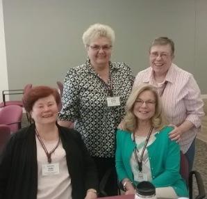 Some of BACAR Board, Judy Borland, Kathi Goodman, Kathy Noether, and former Board member Kathy Harrington